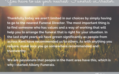 Six Myths To Bust About Funerals – Part Six