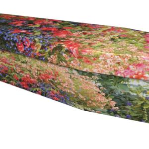 Picture cardboard coffin